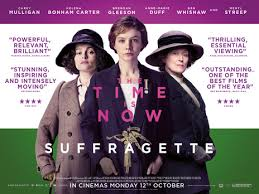 Suffragette Film showing with wine and nibbles