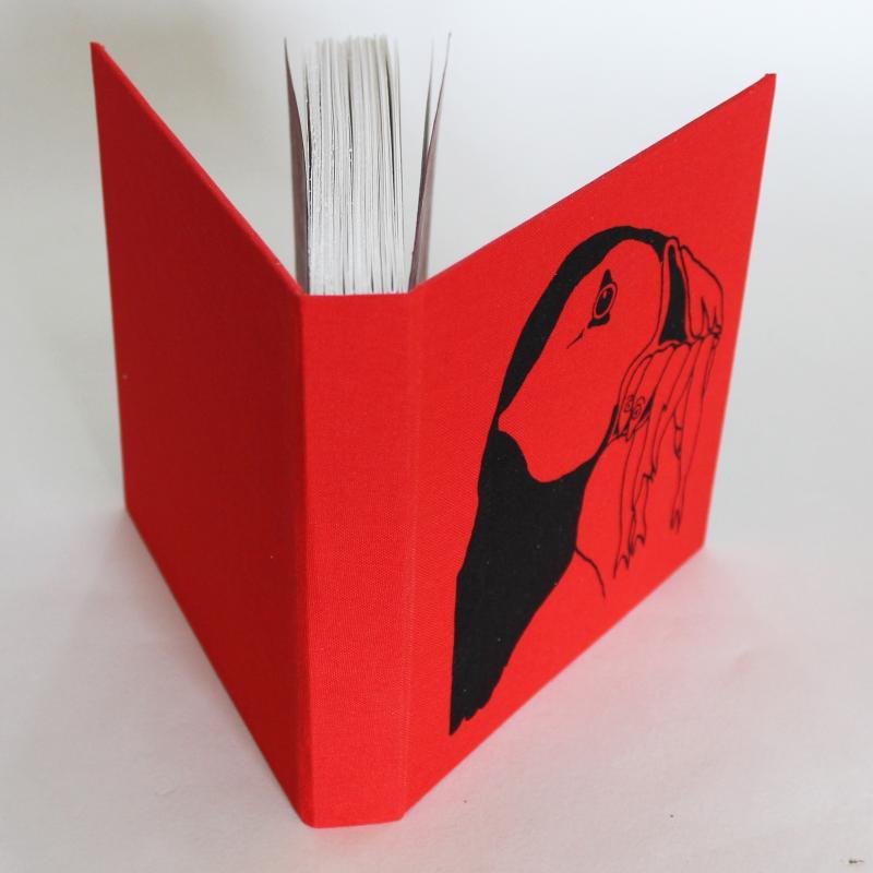 puffin sketchbook
