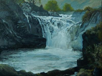 The Rheidol Falls