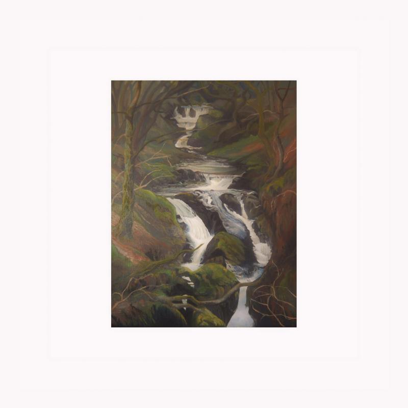 Falls at Nant Gwernol
