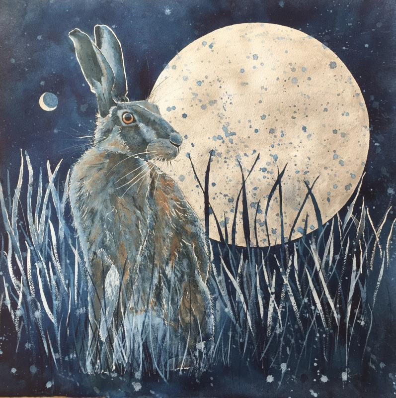 The Hare, the Moon and Venus