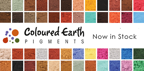Colour Earth Pigments
