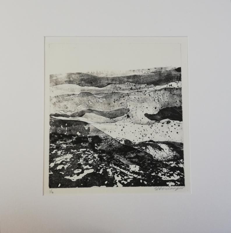 Homeward Bound - Stone Lithograph