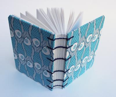 Make a book with coptic binding