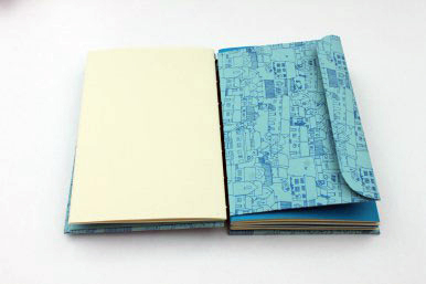 Open Spine Binding Memory Book