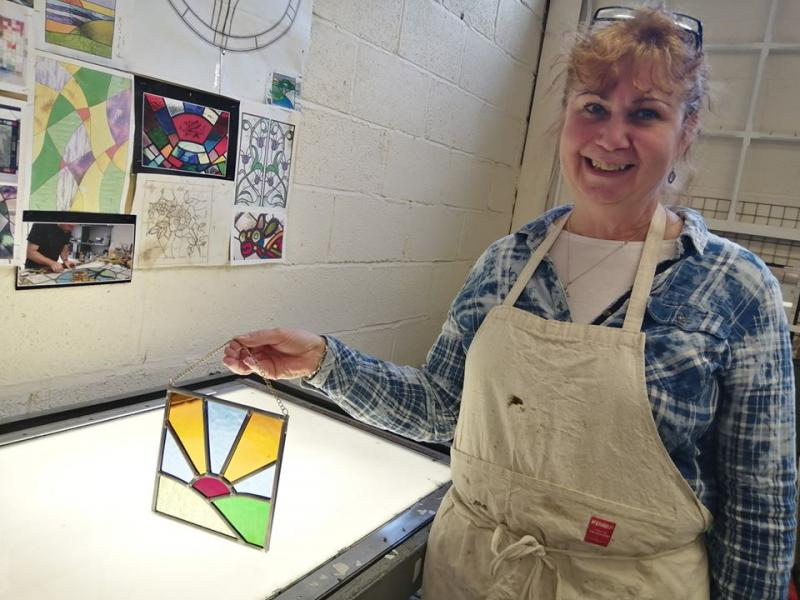 Stained Glass in a Day - for beginners and advanced