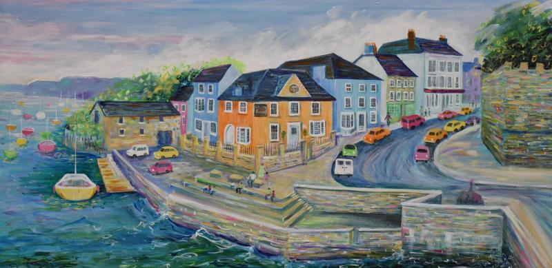 The Bay Gallery and Friends Art and Craft at Cardigan Corn Exchange